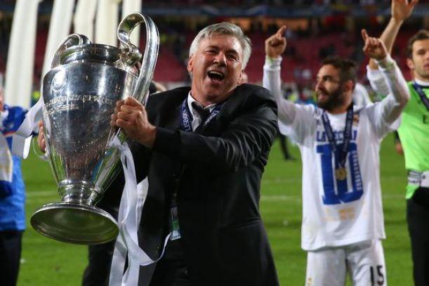 Ancelotti: «Estou muito feliz por esta conquista»