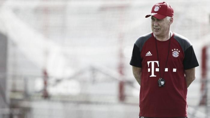 Ancelotti busca alternativas para suprir ausência de lesionados Douglas Costa e Robben
