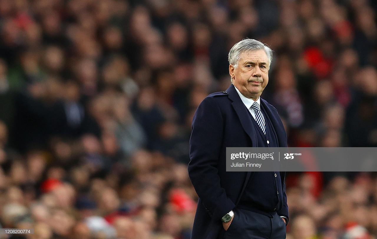 "Carlo Ancelotti admits qualifying for the Europa League will be ""more difficult"" after Spurs defeat"