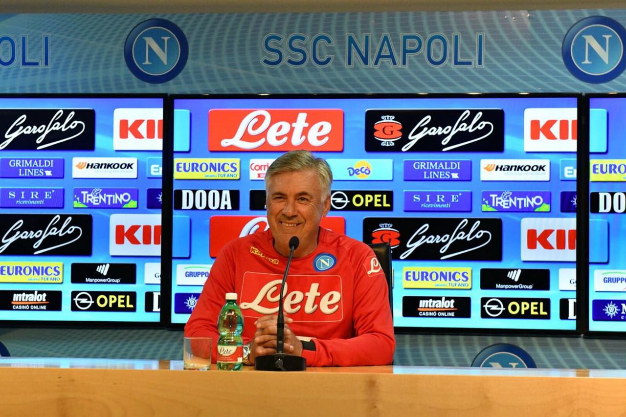 """Napoli, Ancelotti in conferenza stampa: """"Ci sono 3 partite molto importanti e vogliamo portare a casa il massimo"""""""