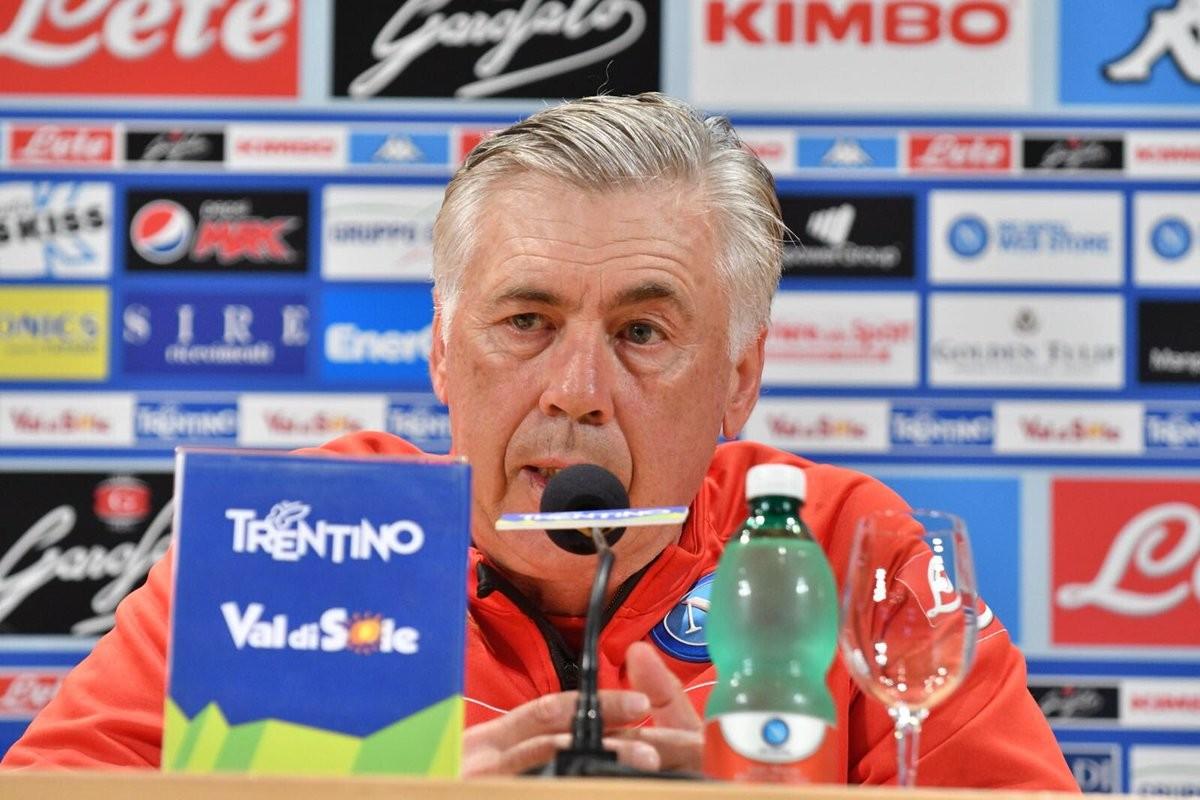 """Napoli, Ancelotti: """"Ambiente sereno e motivato, ho giocatori fantastici. Cavani? Voci. Calendario? Fatalità"""""""