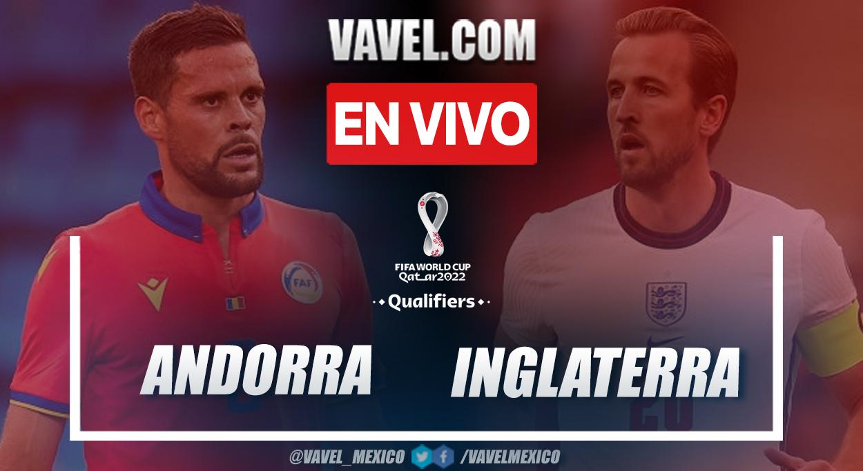 Resumen y goles: Andorra 0-5 Inglaterra
