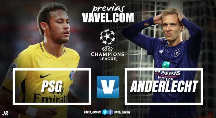 PSG recebe Anderlecht e almeja manutenção de invencibilidade na Champions League