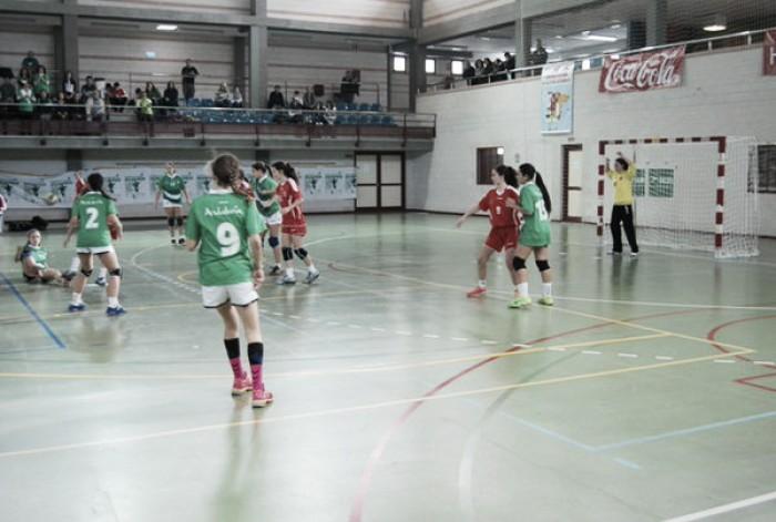 Campeonato de España de Balonmano 2016. Infantil femenino. Cuartos de final