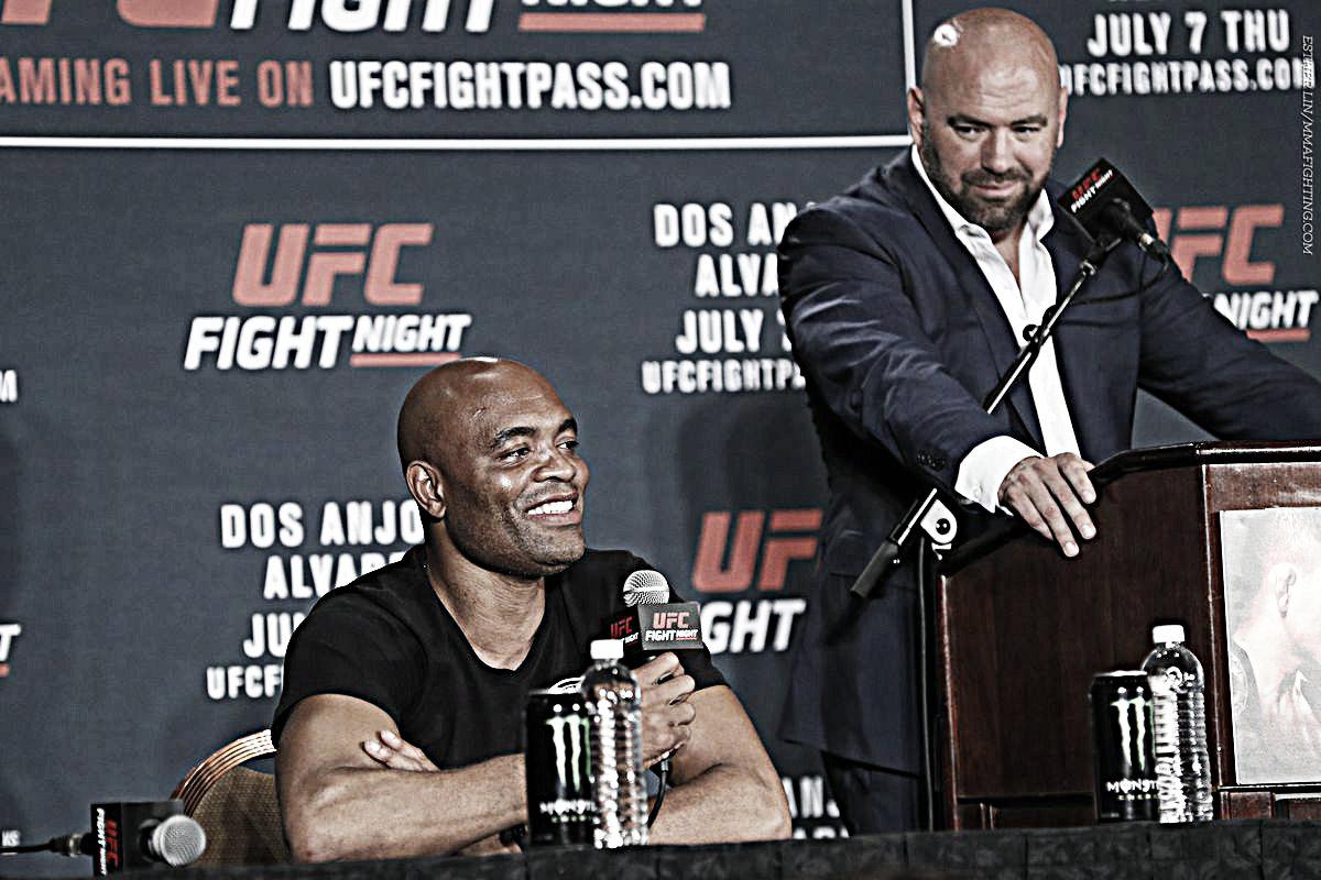 """Anderson Silva: """"Creo que esta pelea es muy interesante para el deporte"""""""
