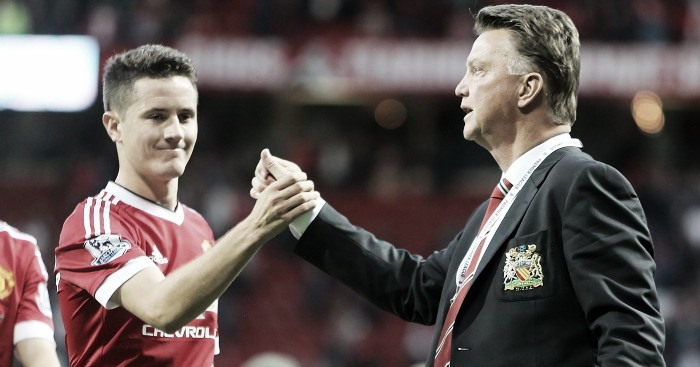 Ander Herrera not surprised by Louis van Gaal sacking