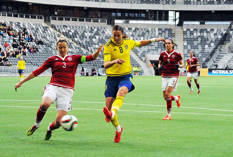 Janni Arnth talks about Denmark needing to find their level