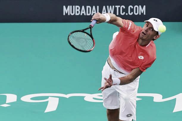 Kevin Anderson, primer rival de Nadal en Abu Dhabi