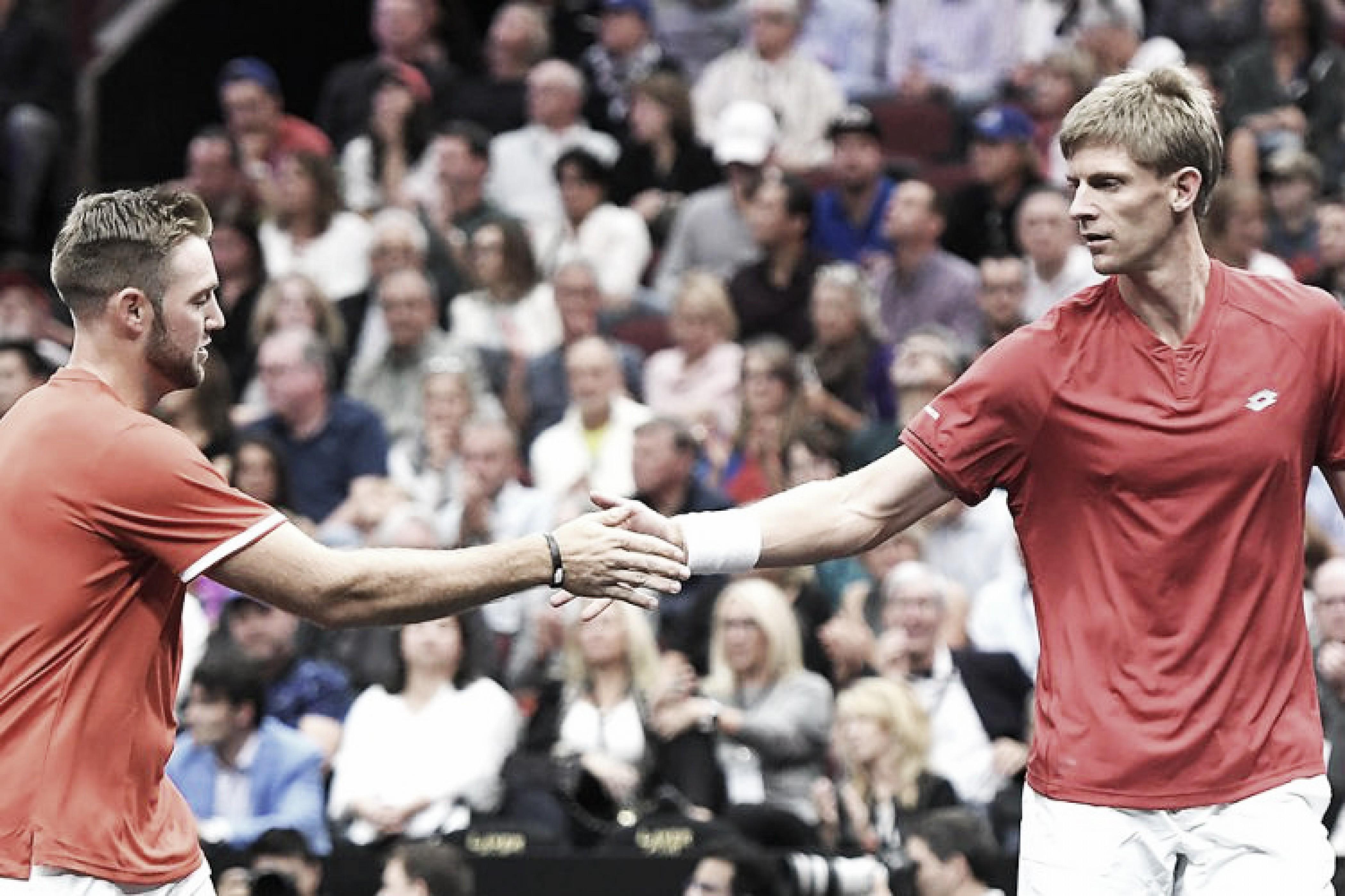 Anderson/Sock brilham, derrubam Djokovic/Federer e marcam primeiro ponto para Time Mundo