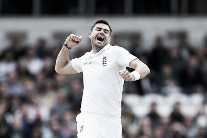 James Anderson becomes number one test ranked bowler