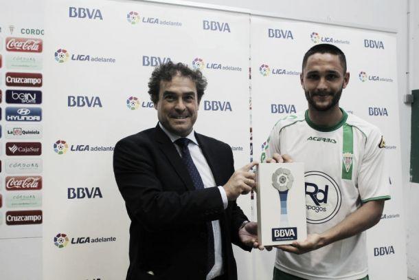 Florin Andone, Mejor Jugador de la Liga Adelante en Octubre