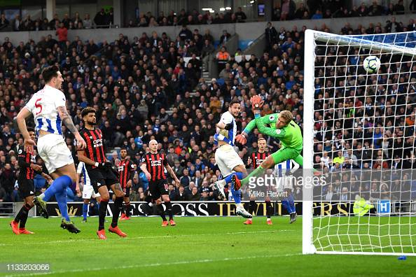 Brighton 1-0 Huddersfield: Andone's header earns Brighton first win of 2019
