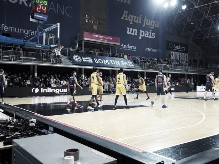 MoraBanc Andorra vence a Turín y sigue con vida en la Eurocup
