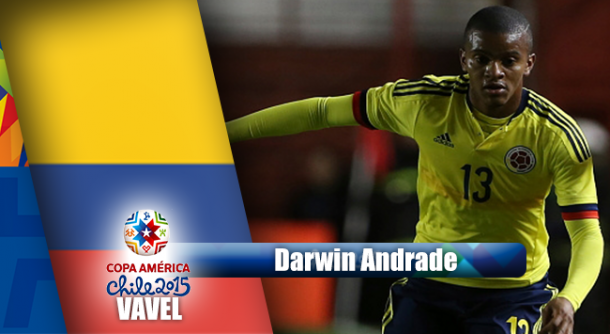 Camino a Chile 2015: Darwin Andrade