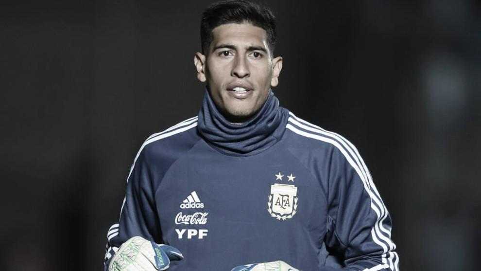 Andrada, desafectado de la Copa América