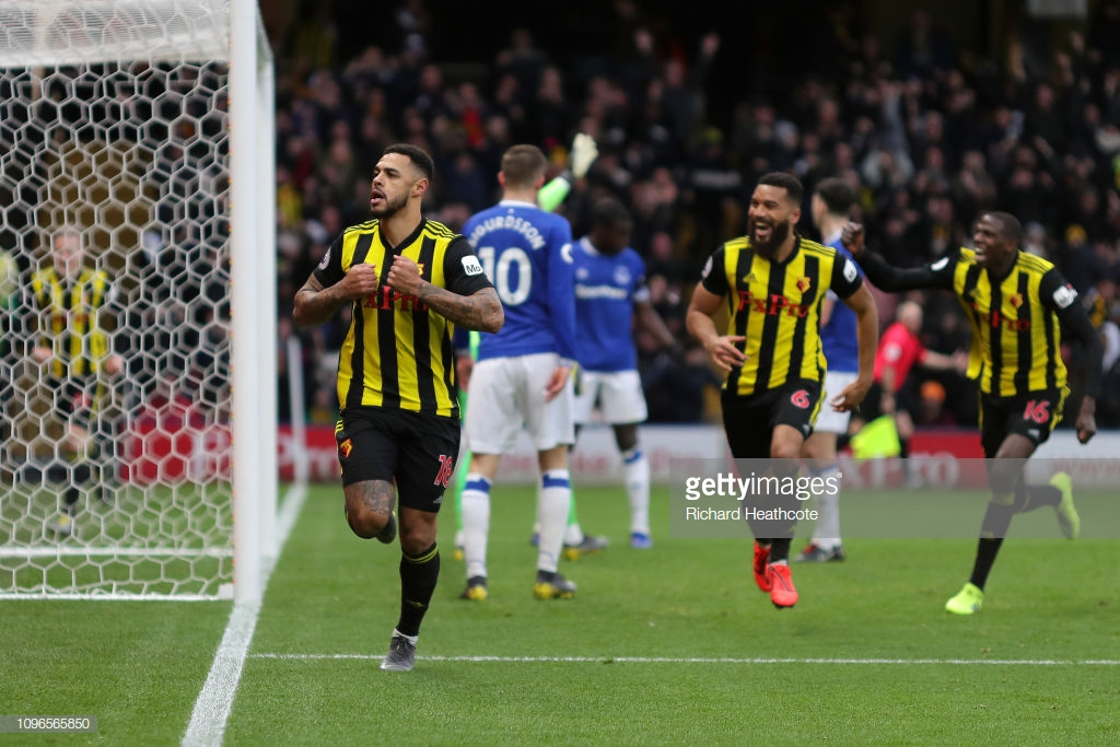 "Andre Gray hails ""massive"" victory over Everton"