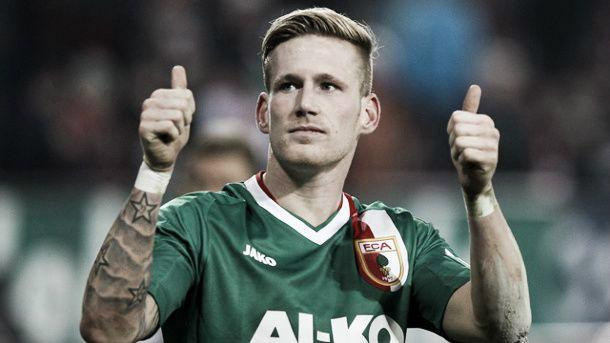 André Hahn, meia do Augsburg, acerta com o Borussia Mönchengladbach