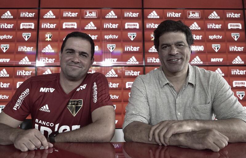 Jardine é efetivado como técnico do São Paulo