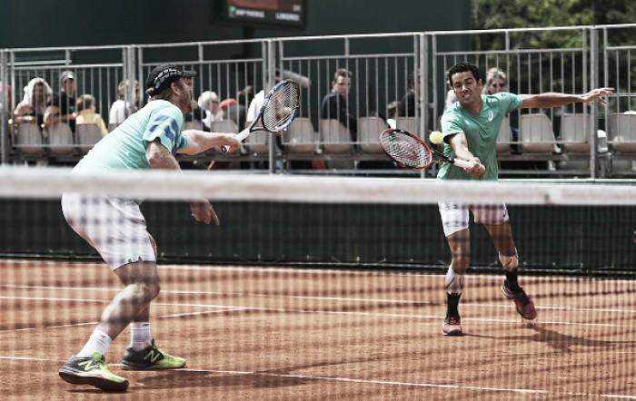 Ao lado de Guccione, André Sá bate Sousa/ Mayer e vai às oitavas em Roland Garros