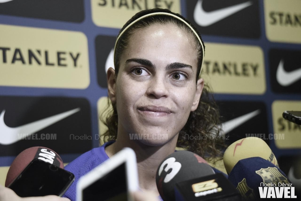 "Andrea Falcón: ""La Copa de la Reina es un trofeo muy especial"""