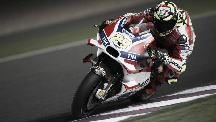 Mixed results for Ducatis in Qatar