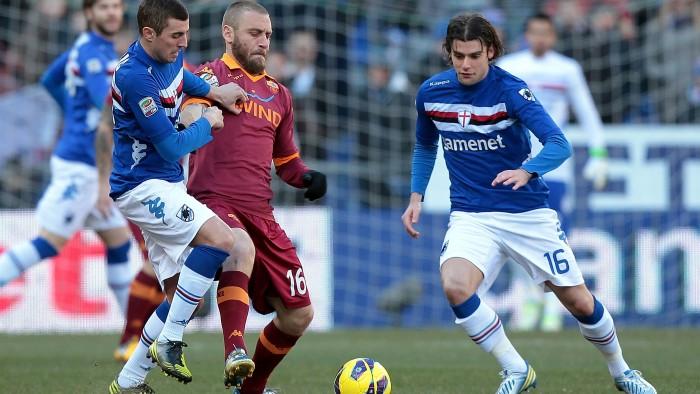 Roma e Sampdoria, destini incrociati