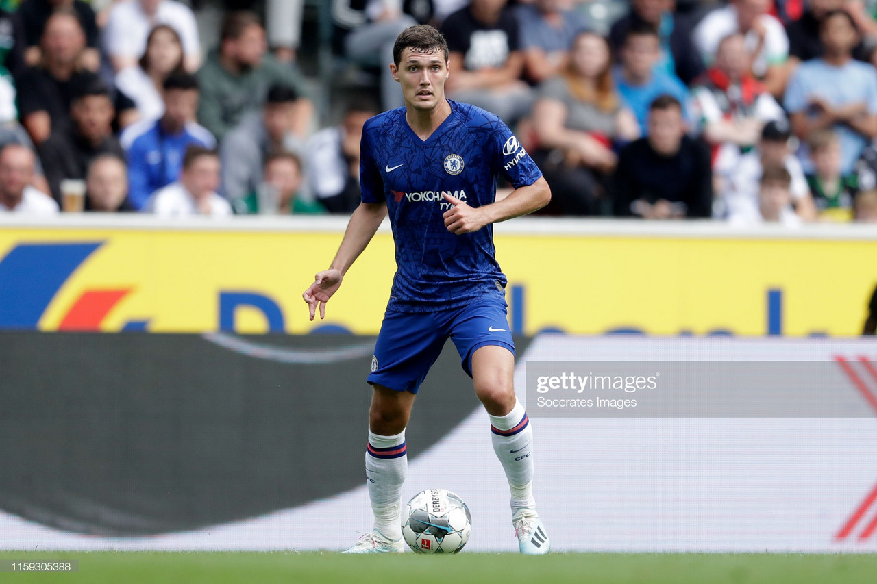 Andreas Christensen looks to the opening day of the season against Manchester United