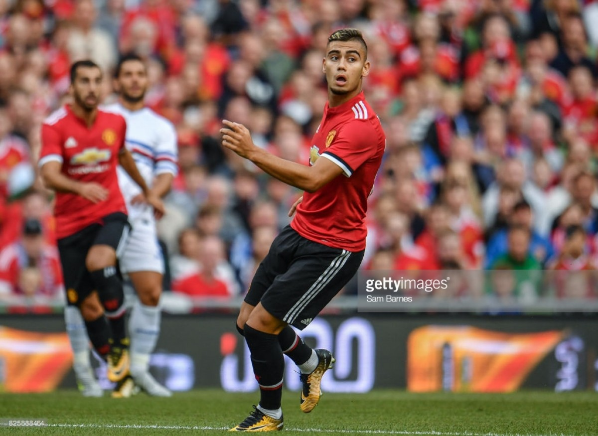Report: Andreas Pereira looking to seek assurance from Jose Mourinho over his Manchester United future