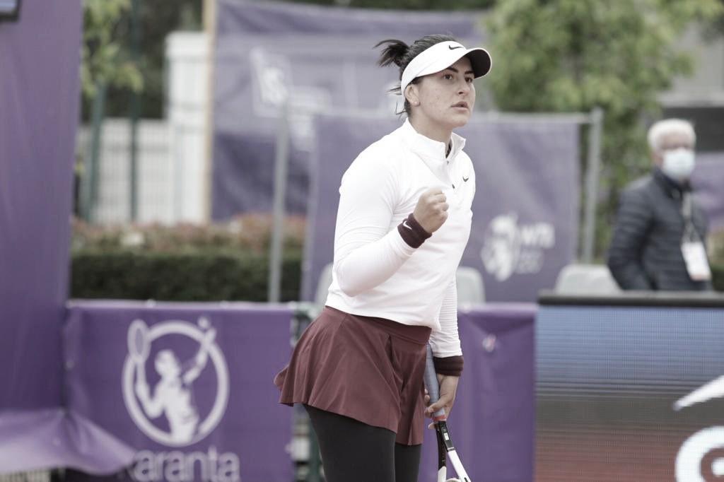 Andreescu vence Zanevska, mas anuncia desistência do WTA de Strasbourg na sequência