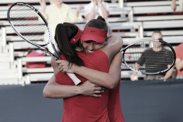 WTA Rogers Cup: Canadian teenagers Andreescu/Branstine shine in Toronto début, edge out Mladenovic/Pavlyuchenkova for unforeseen victory