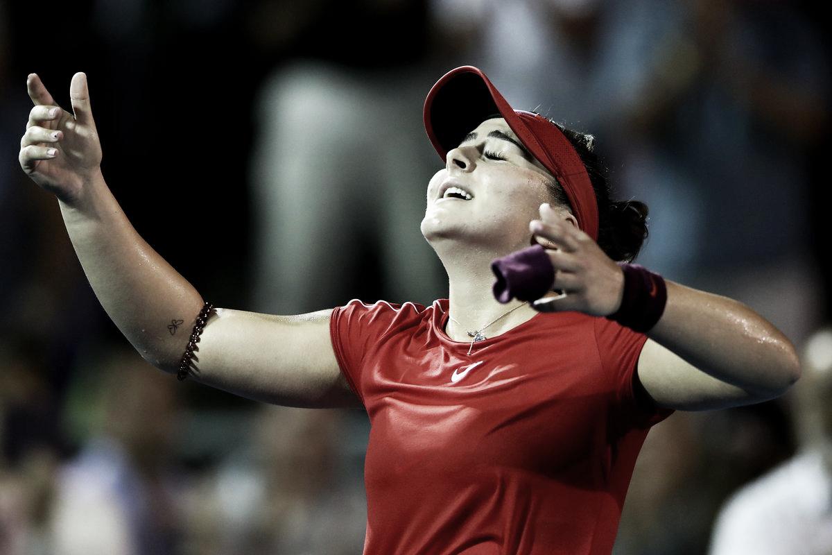 Andreescu surpreende Wozniacki em Auckland e conquista maior vitória da carreira