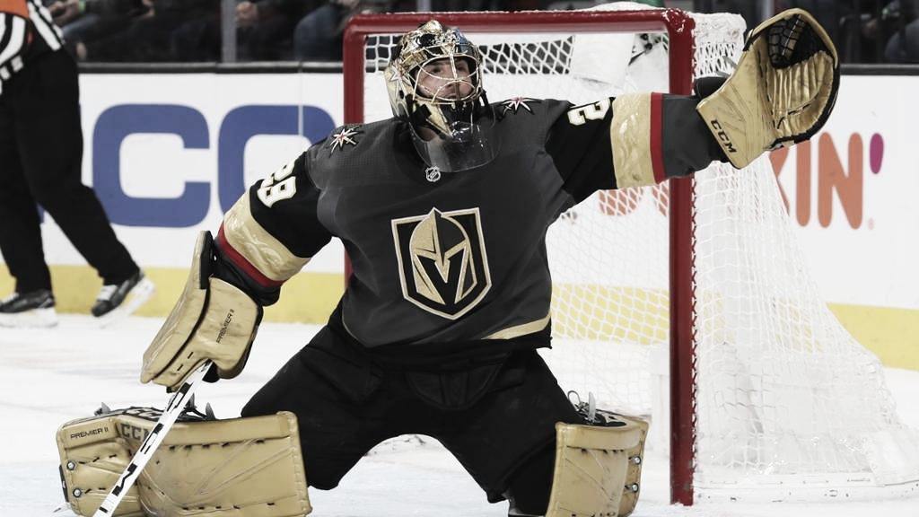 Marc-Andre Fleury avanza al tercer lugar en la lista de victorias en la carrera de la NHL