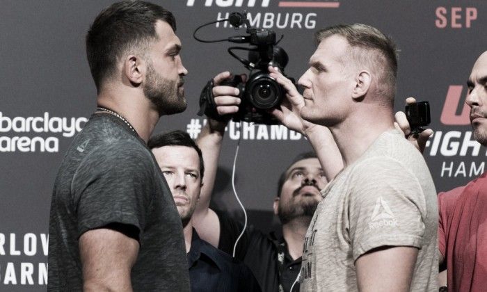 UFC Hamburg: Defeat for Scott Askham but victory via submission for Josh Barnett