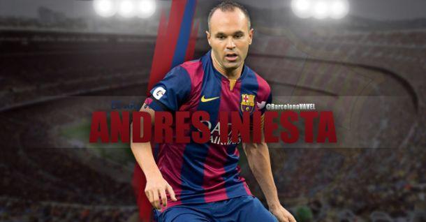 FC Barcelona 2014: Andrés Iniesta