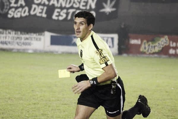 Andrés Merlos será el árbitro de Unión-Boca