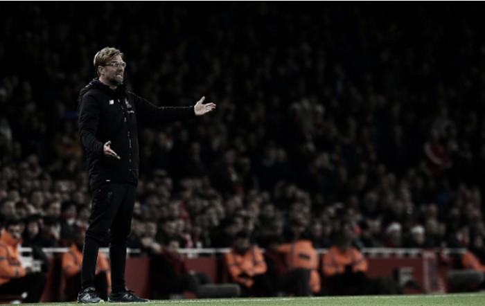 """Klopp mostra insatisfação com os erros do Liverpool no clássico: """"Demos a eles a oportunidade"""""""