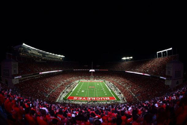 Penn State Nittany Lions - Ohio State Buckeyes 2015 College Football Scores (10-38)