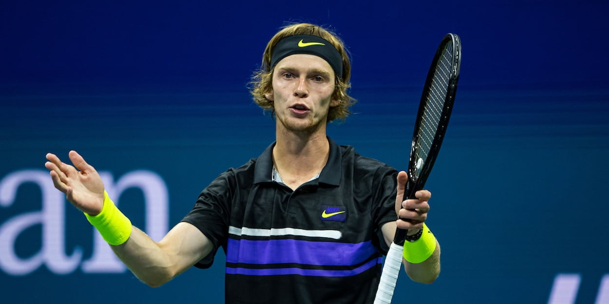 US Open: Andrey Rublev finishes strong against Matteo Berrettini