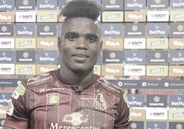 Un debutante, el mejor jugador del Deportes Tolima en el primer partido de 2020
