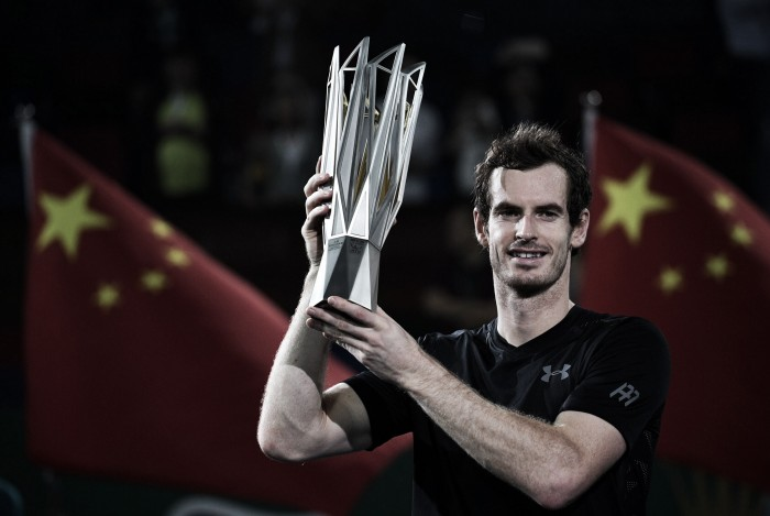 ATP Shanghai: Andy Murray finishes perfect run in China with the Shanghai Rolex Masters title