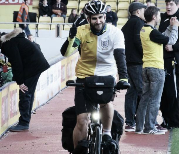 Man set to cycle 5,500 miles across Brazil for charity and the football: Interview