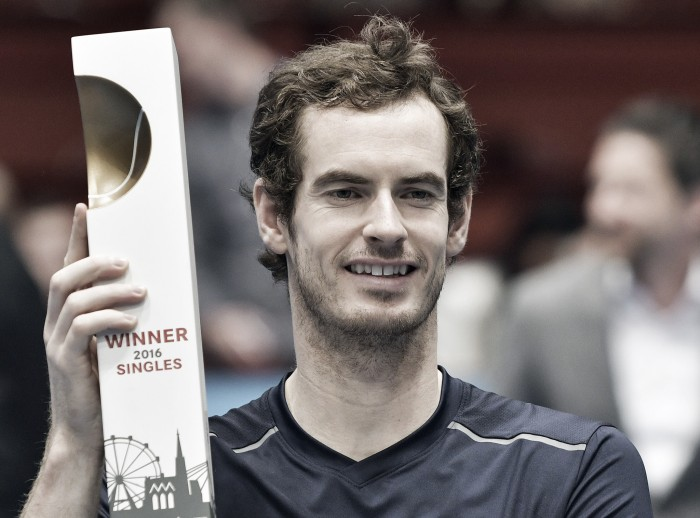 ATP Vienna: Andy Murray continues incredible end of season run with the Erste Bank Open title