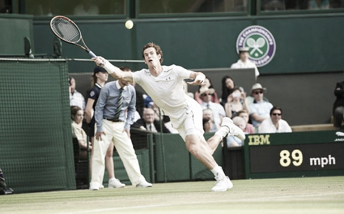 Wimbledon 2016: Andy Murray sees off John Millman to reach the last 16