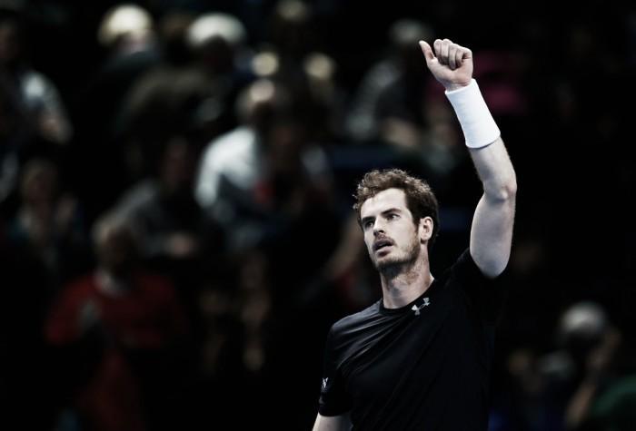 Em duelo de três horas, Murray vira contra Nishikori no ATP Finals