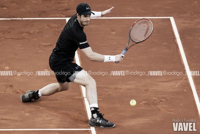 Foto-Internazionali, il match tra Goffin e Murray