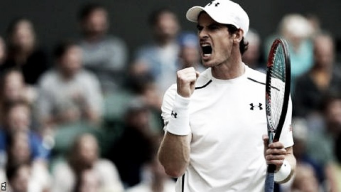 Wimbledon 2016: Andy Murray through to the quarter-final with convincing display