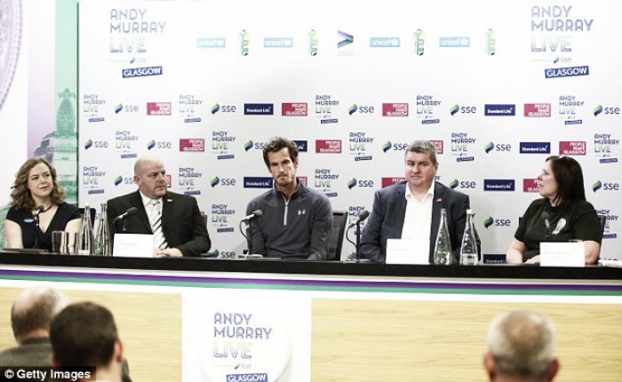 Andy Murray launches Charity Event