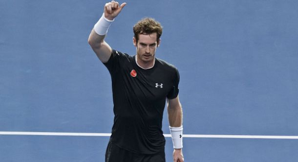 Andy Murray Begins His Davis Cup Preparation Before World Tour Finals