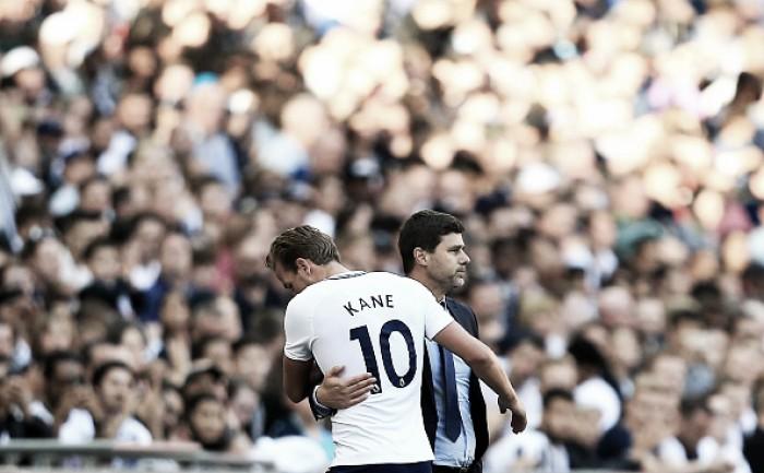 """Pochettino enaltece feito de Kane em vitória sobre Southampton: """"Superou CR7 e Messi"""""""