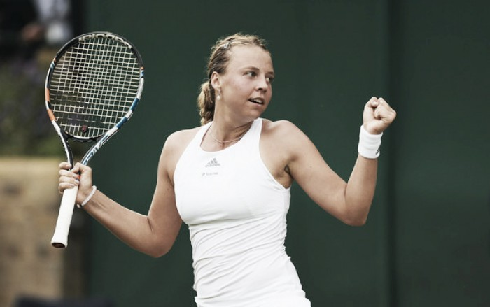 2017 Season Review: Anett Kontaveit ends stellar year on a disappointing note